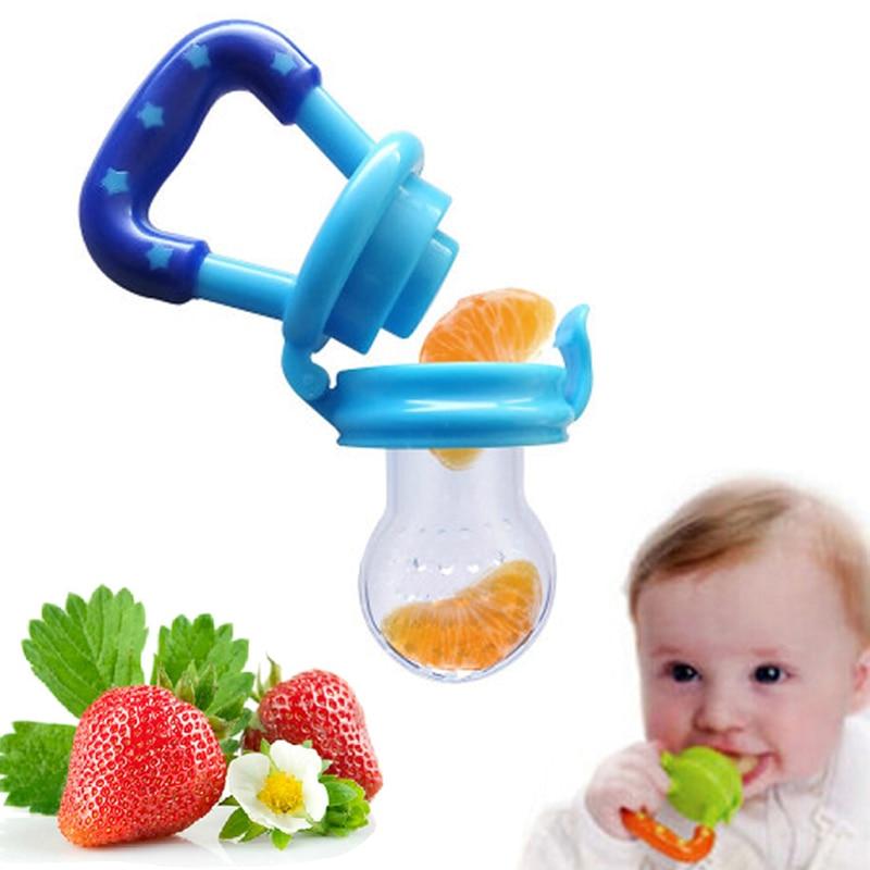 Chupete para biberón de frutas y pezones para frutas y alimentos chupete alimentador chupete de silicona para bebés biberón Gel de sílice para alimentación