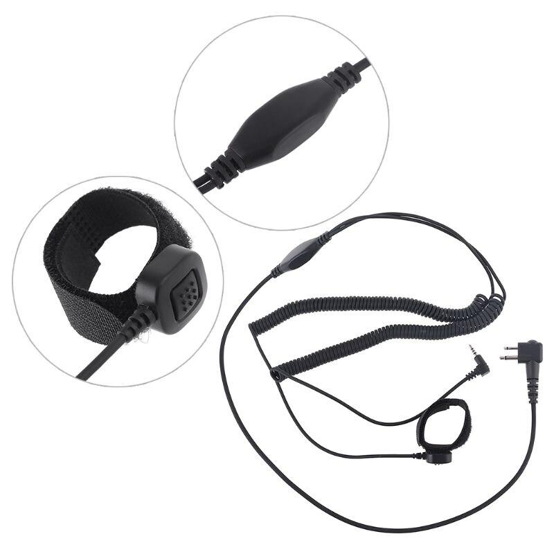 Prmeium novo capacete bluetooth fone de ouvido conectar cabo para motorola gp68/gp300 gp2000 gp88s walkie talkie rádio em dois sentidos
