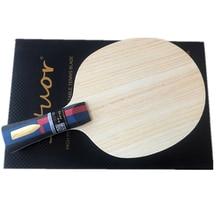 Stuor Lin Gaoyuan 7Plys Arylaat Carbon Fiber Tafeltennis Blade Ping Pong Racket Snelle Aanval Tafeltennis Accessoires Goud logo