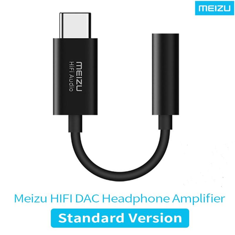 Meizu HiFi DAC auriculares amplificador tipo-C a 3,5mm Adaptador de audio Cirrus Logic CS43131 Chip 600Ω PCM 32bit/384k DSD128