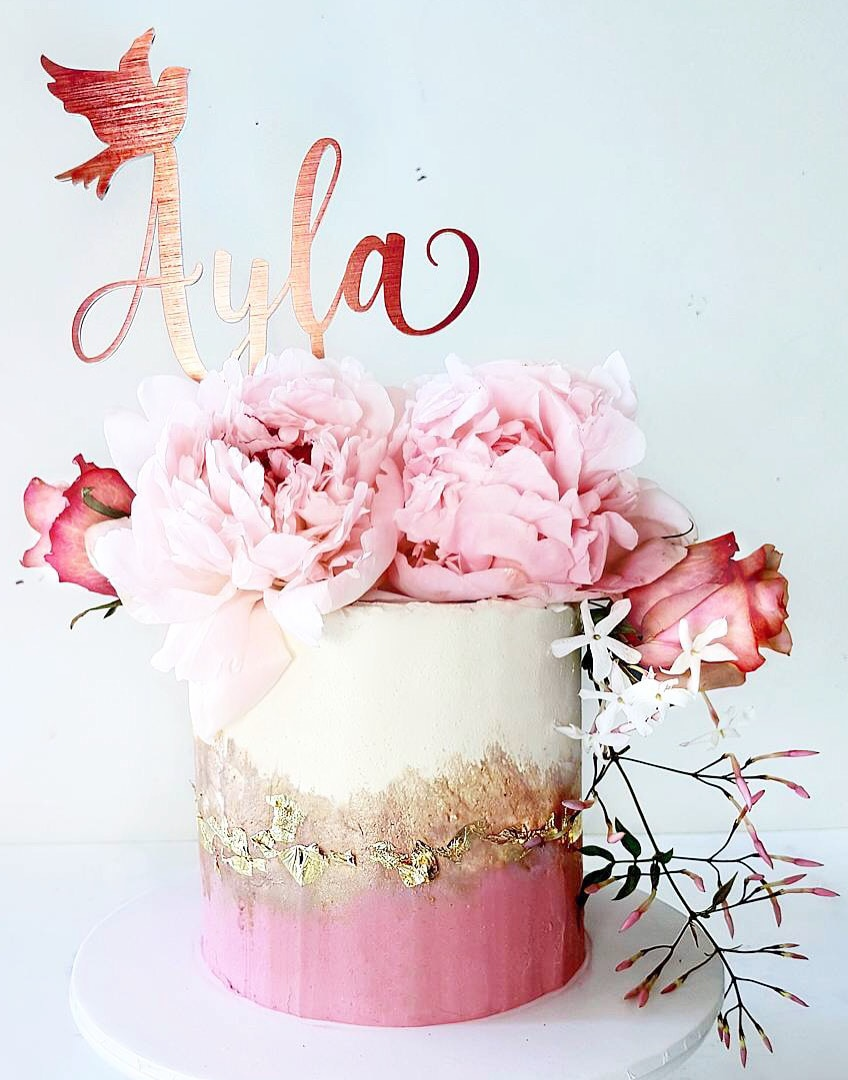 Topper feito sob encomenda do bolo do casamento, topper de madeira personalizado do bolo do casamento do nome, topper original do bolo do pássaro da anunciação do chuveiro da noiva