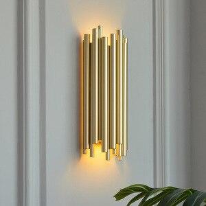 Винтажный настенный светильник для ванной комнаты, настенный светильник, деревянное зеркало, светильник для спальни, коридора, прикроватны...