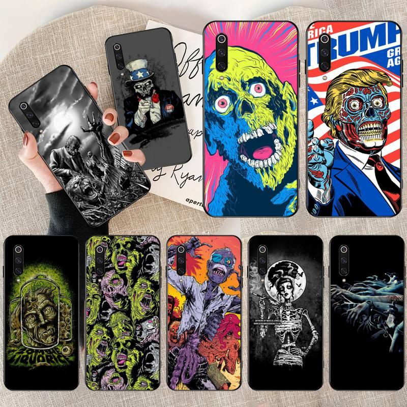 HPCHCJHM zombies Customer High Quality Phone Case for Xiaomi Mi9 9SE 8SE Pocophone F1 Mi8 Lite