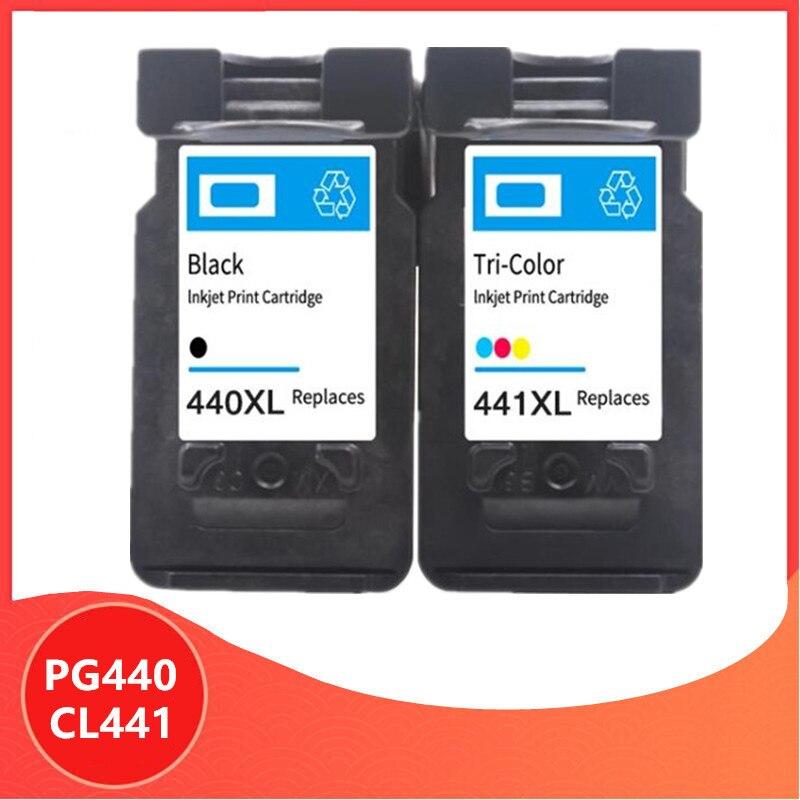 PG 440 PG440XL CL 441 خرطوشة الحبر متوافقة لكانون PG440 CL441 440XL 441XL للطابعة 4280 MX438 518 378 MX438