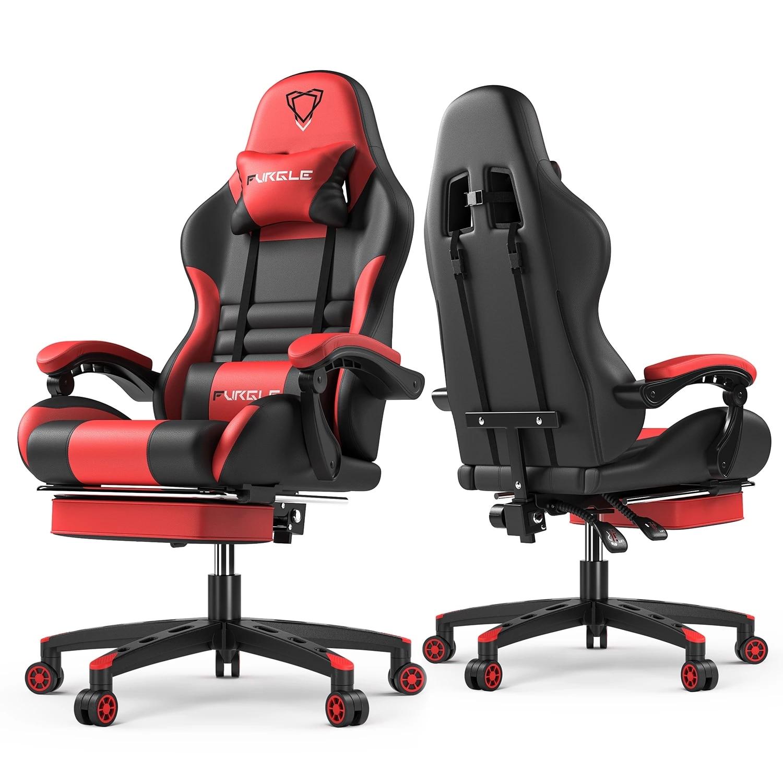 Фото - Игровое офисное кресло, компьютерное кресло, удобное кресло для руководителя, кресло для работы с компьютером, кресло для коридора, поддерж... кресло
