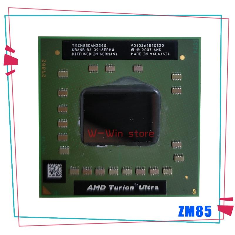 AMD Turion X2 Ultra ZM-85 ZM 85 ZM85 2.3 GHz Dual-Core Dual-Thread CPU Processor TMZM85DAM23GG Socket S1