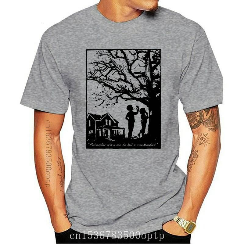 New To Kill a Mockingbird T-Shirt Harper  Go Set a Watchman Novel Book Gift Read 2021 Fashion Tops S