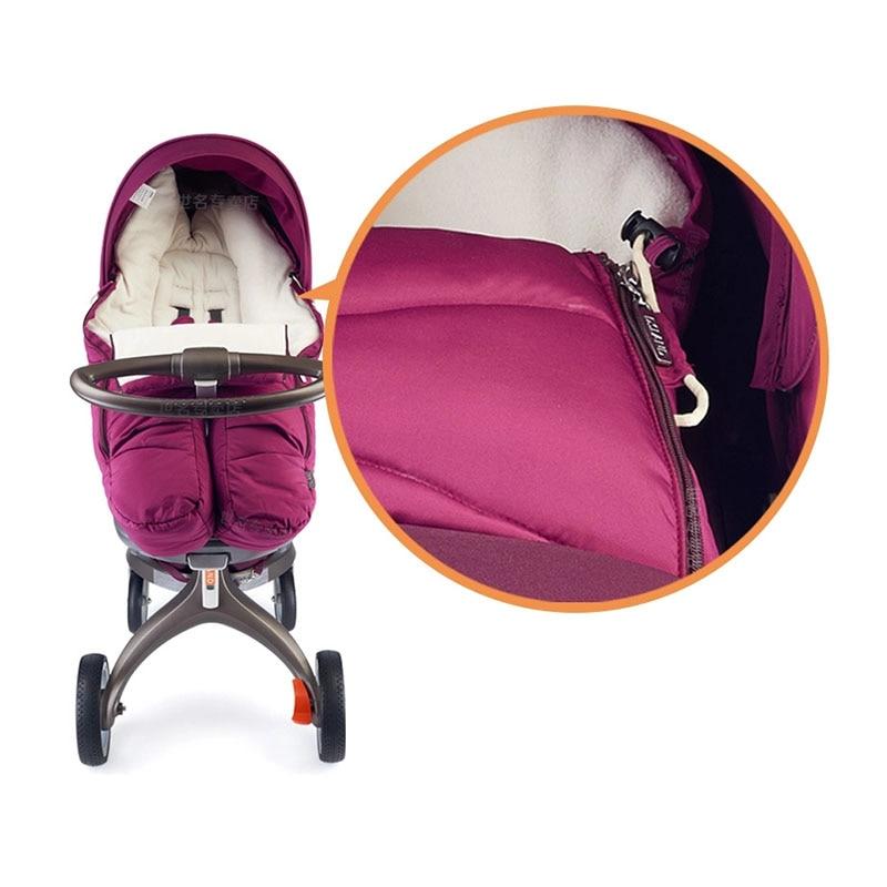 Sleeping Bag For Stokke Xplory V3 V4 V5 Dsland Scoot Series B-BEKO BabyTrolley Warm Thickened Universal Type enlarge