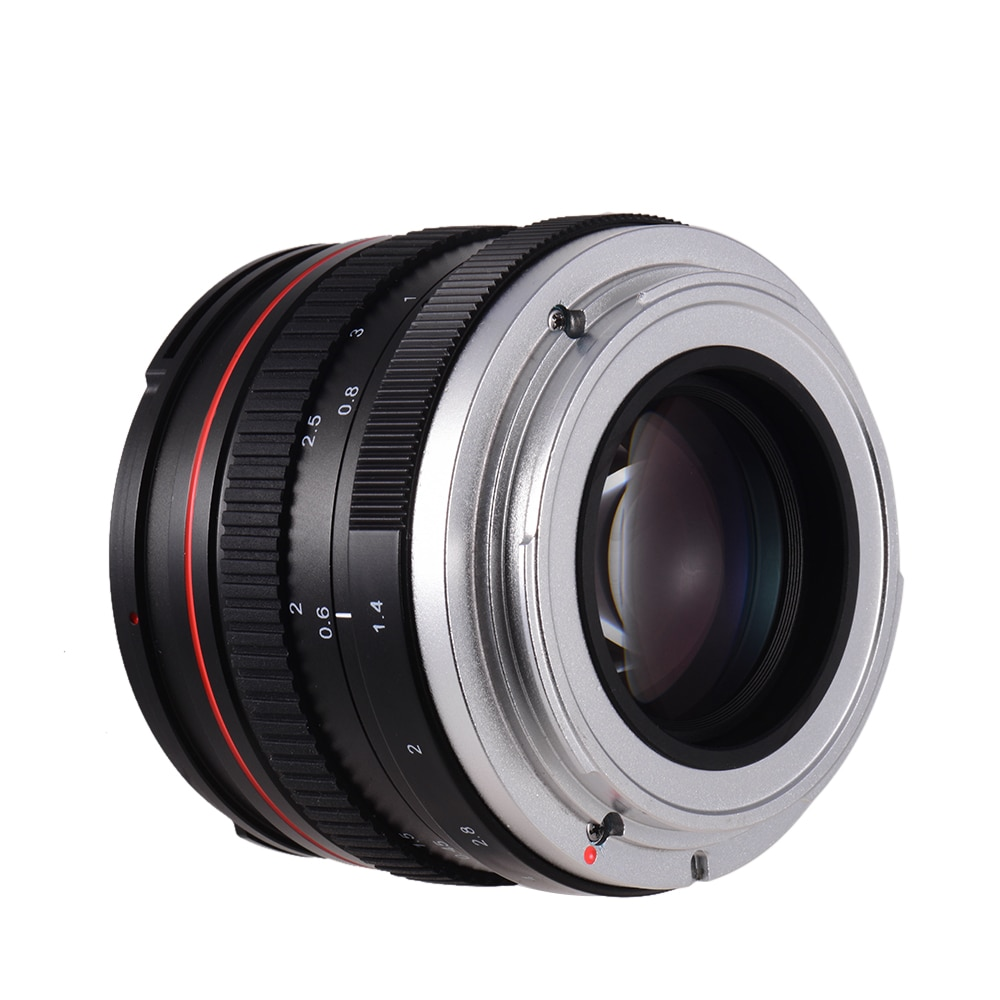 Lente de cámara f/1,4 de 50mm USM, lente de la cámara de enfoque antroporfo estándar de gran apertura, baja dispersión para Canon 100D 200D 350D