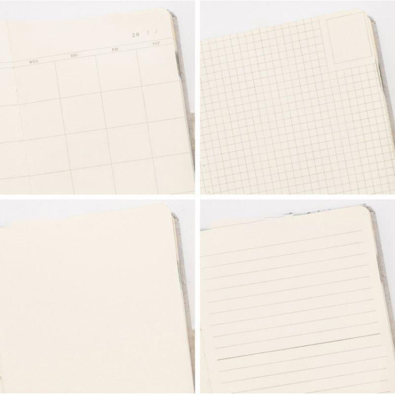 Vintage Notebook Monthly Annual Planner Journal Agenda Organizer Travel Business QX2B
