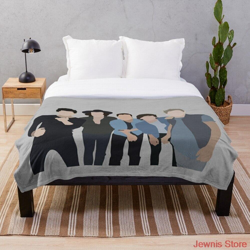اتجاه واحد بطانية الطباعة على الطلب البطانيات شيربا الزخرفية للهدايا أريكة سرير