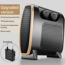 Ventilateur de bureau Portable Mini 1500W chauffage infrarouge électrique chauffage électrique maison réchauffeur dair convecteur silencieux chauffage pratique