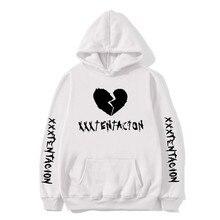 2020 Xxxtentacion sweat à capuche vengeance hommes/femmes printemps automne sweats rappeur Hip Hop à capuche pull mode décontracté Streetwear