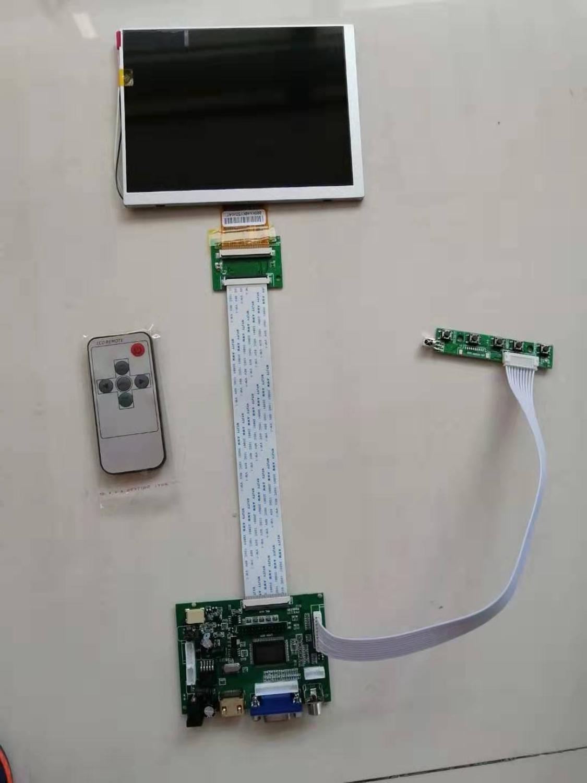 HDMI VGA 2AV Remote LCD Controller Board 7 inch 800x600 CLAA070MA0ACW LCD driver board аксессуар palmexx hdmi vga px hdmi vga