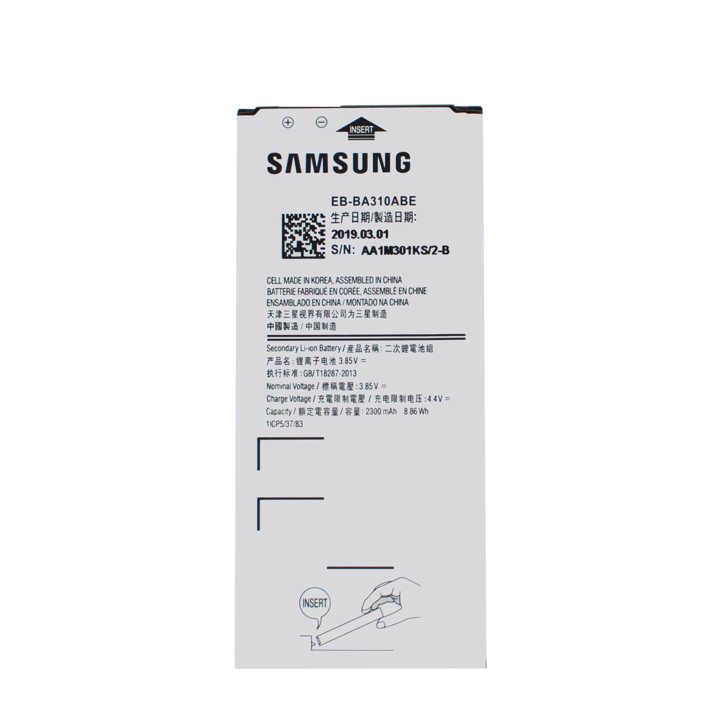 20pcs/lot High Quality Battery EB-BA310ABE For Samsung Galaxy A3 2016 Edition A310F A310 Bateria 2300mAh AKKU In Stock enlarge