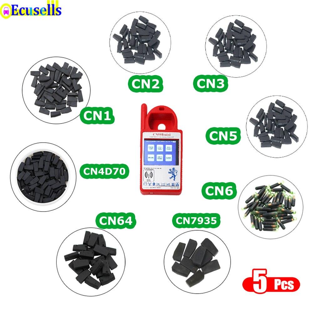 5 pçs/lote CN1 CN2 CN3 CN5 CN6 CN7935 CN4D70 80BIT chip para CN900 CN900MINI ND900 4C 4D 46 48 7935 G chip de CÓPIA 4D61/62/65/66/67