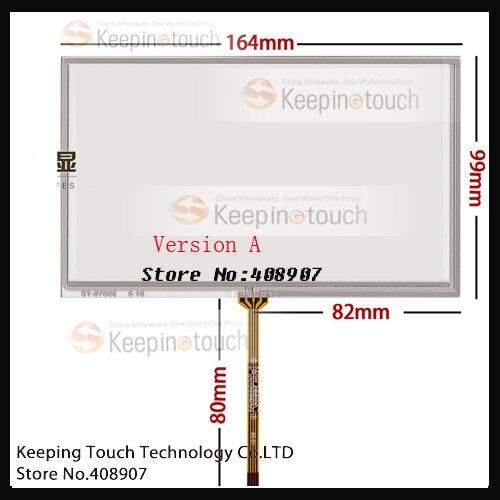 """Para 7 """"AT070TN90 AT070TN92 AT070TN93 AT070TN94 LCD Digitador Da Tela de Toque"""