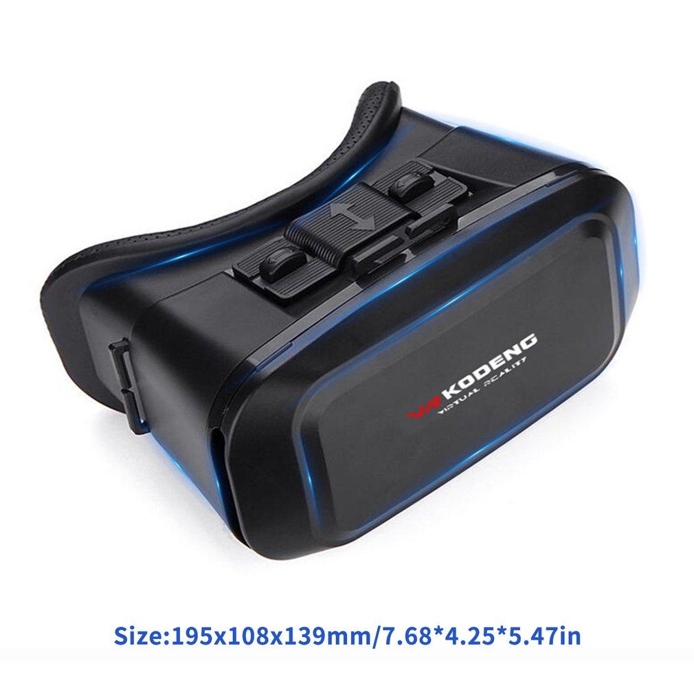 K2 3D Vr Virtual Reality Vr Glasses Genuine Leather Eye Glasses Smart Helmet Stereo Game Cinema Boxs Suitable For Smart Phone enlarge