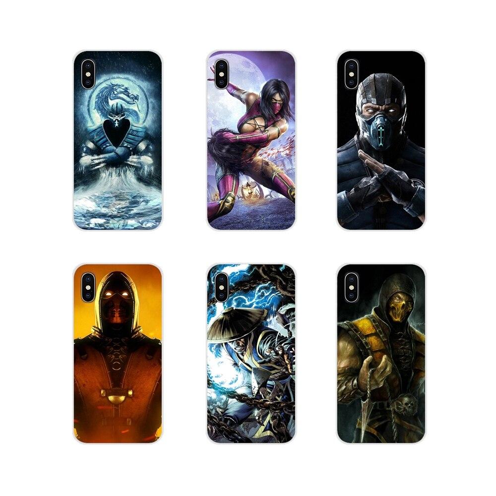 Escorpión en Mortal Kombat accesorios Shell para LG G3 G4 Mini G5 G6 G7 Q6 Q7 Q8 Q9 V10 v20 V30 X Power 2 3 K10 K4 K8 2017
