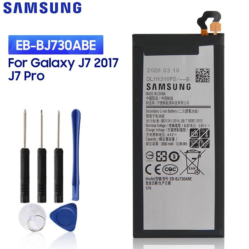 samsung original battery eb bj730abe for samsung galaxy j7 pro j730fj730k j730g j730gm sm j730f sm j730ds sm j730fm 3600mah SAMSUNG Original Replacement Battery EB-BJ730ABE For Samsung Galaxy J7 Pro J72017 J730F J730G J730DS J730FM J730GM J730K 3600mAh