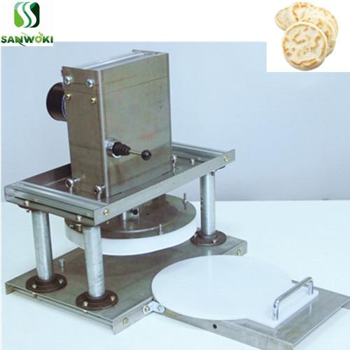 Electric Pizza Dough Sheet Pressing machine 22cm wheat Flour dough sheeter machine Grab cake making machine tortilla maker