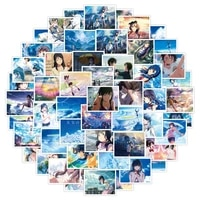 1050pcs anime weathering with you series stickers diy children toys gift for notebook laptop mobile phone decoration stickers