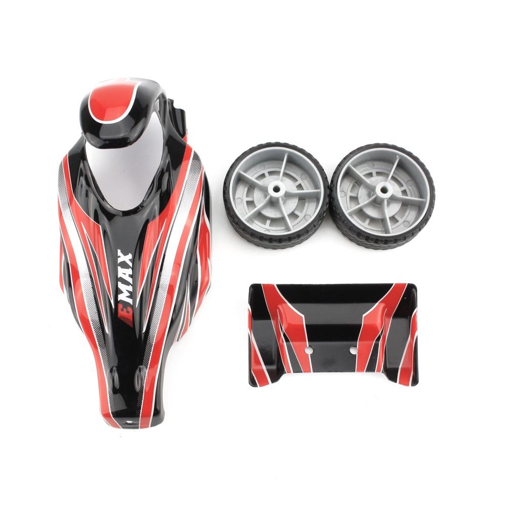Emax Interceptor FPV RC Car Spare Part A - Body Parts Kit Part B - Steering + Suspension Kit Part D - Shell + Wheels Kit