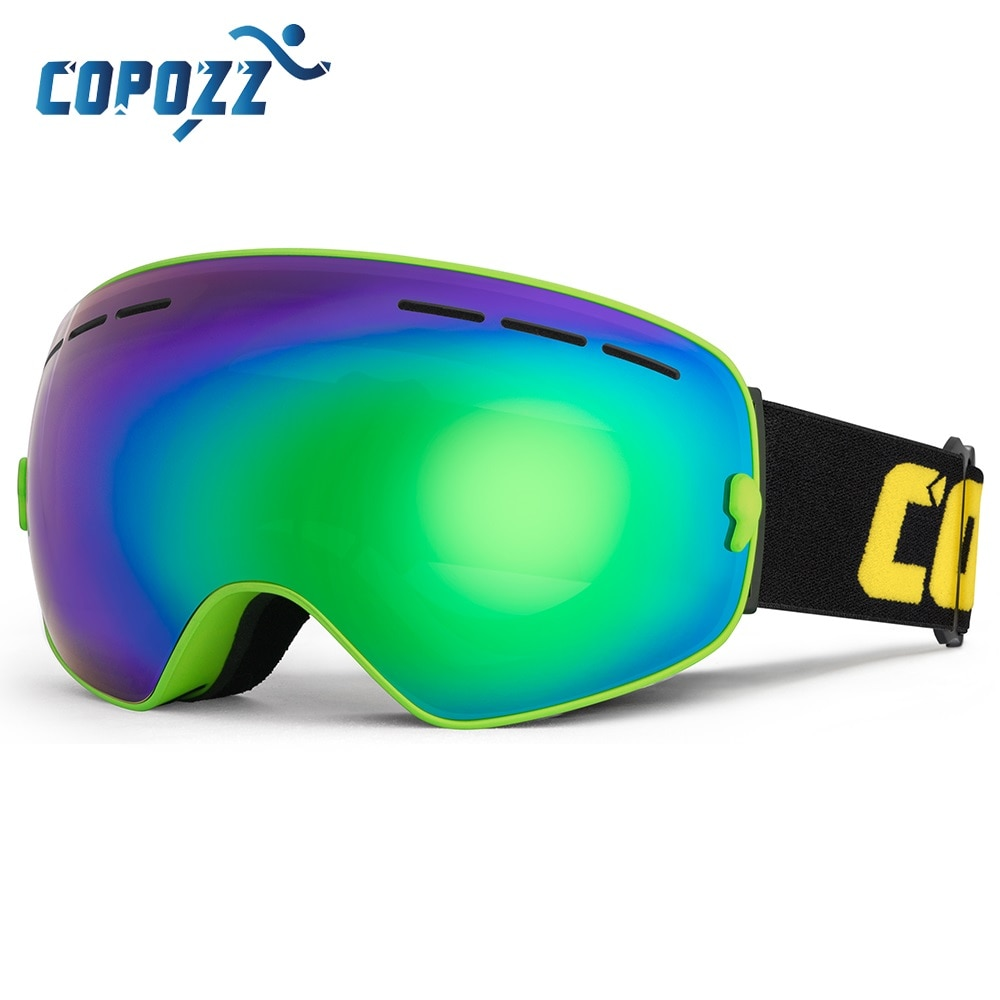 AliExpress - COPOZZ Brand Ski Goggles Double Layers UV400 Anti-fog Big Ski Mask Glasses Skiing Snow Men Women Snowboard Goggles GOG-201 Pro