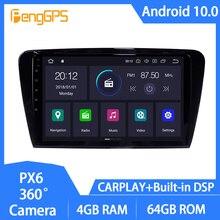 Android 10 Car GPS Head Unit for Skoda Octavia 2013-2018 DVD Player 10 Inch Touchscreen Multimedia FM AM Radio Mirror Link WIFI