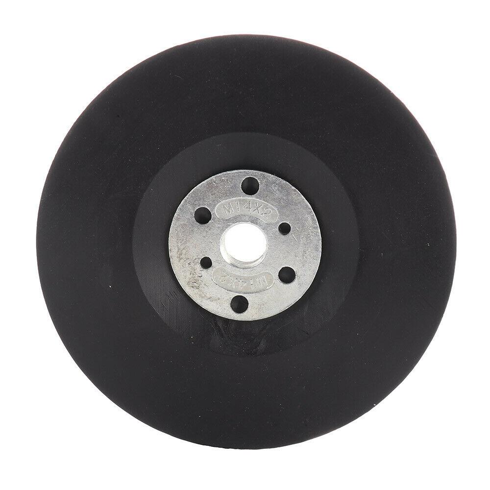 5 Polegada 125mm ferramentas abrasivas da roda do adaptador de broca da almofada de moedura m14 de plástico para o moedor de ângulo lixamento polimento da máquina