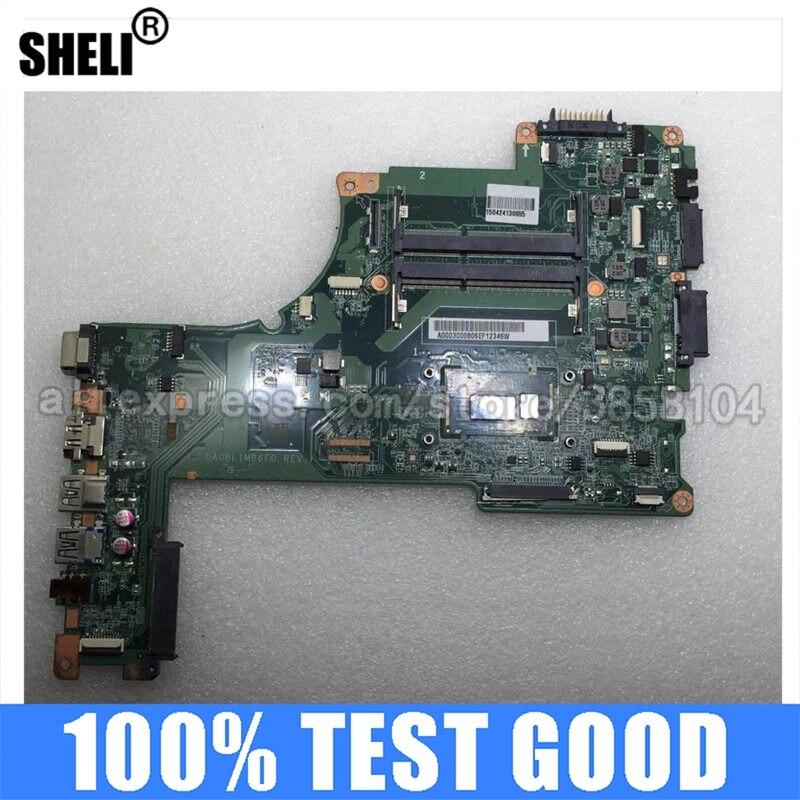 I5-4210U da0blimb6f0 a000300080 computador portátil placa principal para toshiba satellite l50 L50-B l55 series placa-mãe do portátil