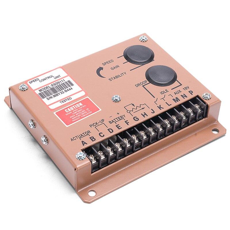Govornor-منظم سرعة المحرك ، منظم سرعة المحرك الجديد ESD5111 ، مزود الطاقة ، جزء مولد التيار المتردد ، 12 فولت ، 24 فولت
