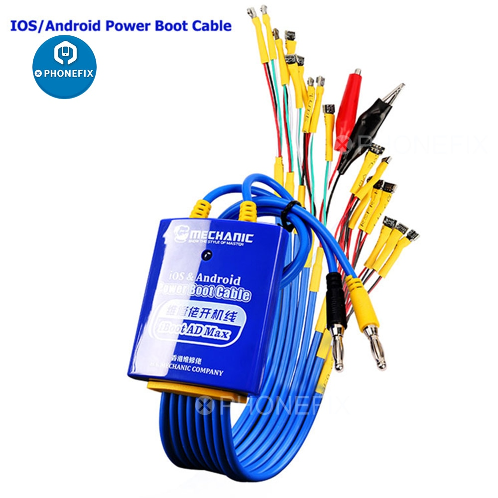 MECHANIC for Android IOS Power Boot Control line Phone Power Cable Motherboard Activation Boot Line for iPhone Samsung Huawei