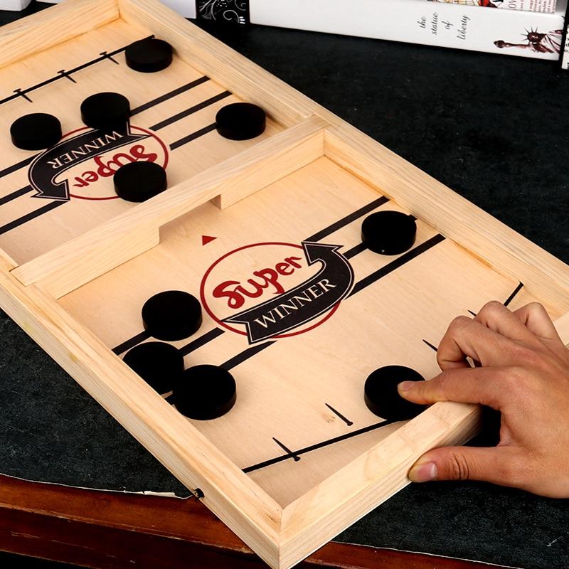 Jeu de rondelle de fronde rapide jeux de société au rythme rapide jouets catapulte échecs pare-chocs jeu interactif Parent-enfant