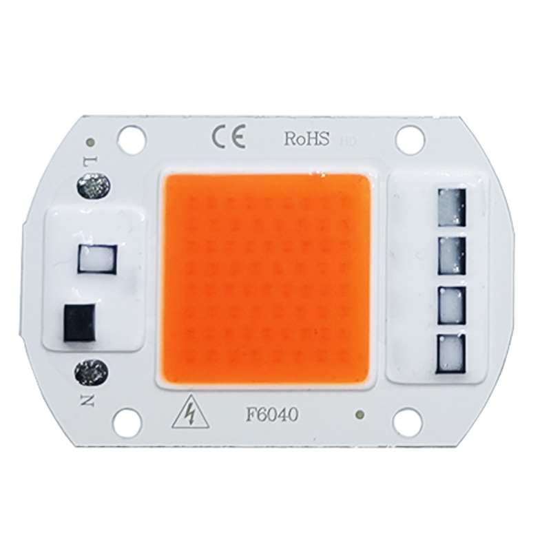 LED Grow COB Chip Phyto Lamp Full Spectrum AC220V 10W 20W 30W 50W For Indoor Plant Seedling Grow and Flower Growth Lighting