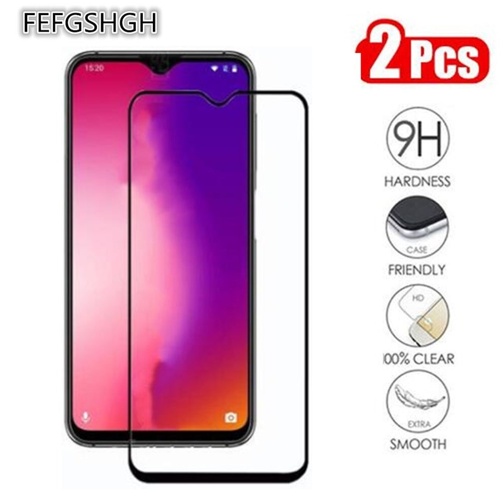 2 Packs Full cover Tempered Glass For UMIDIGI One Max Screen Protector 9H Phone Protective Glass On UMIDIGI One Max