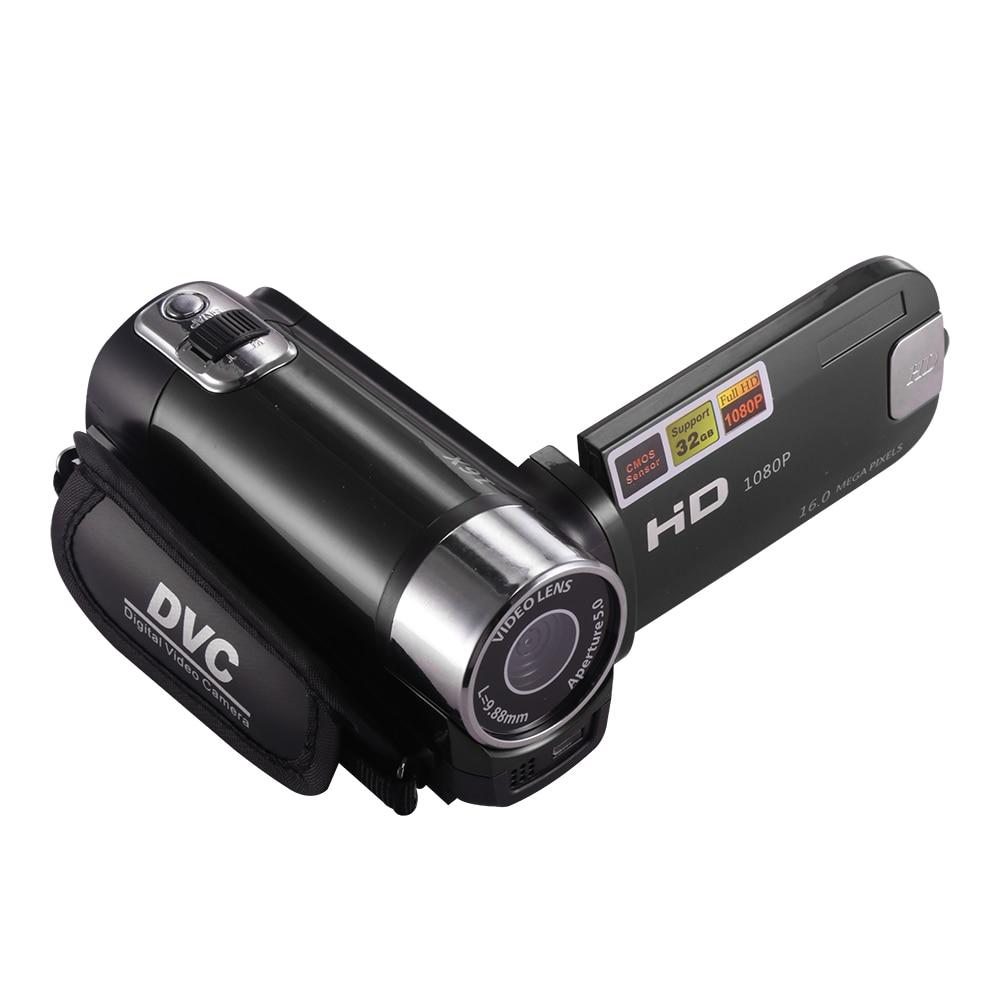 كاميرا رقمية احترافية مع رؤية ليلية ، دقة 1080 بكسل ، مضادة للاهتزاز ، DV ، كاميرا رقمية