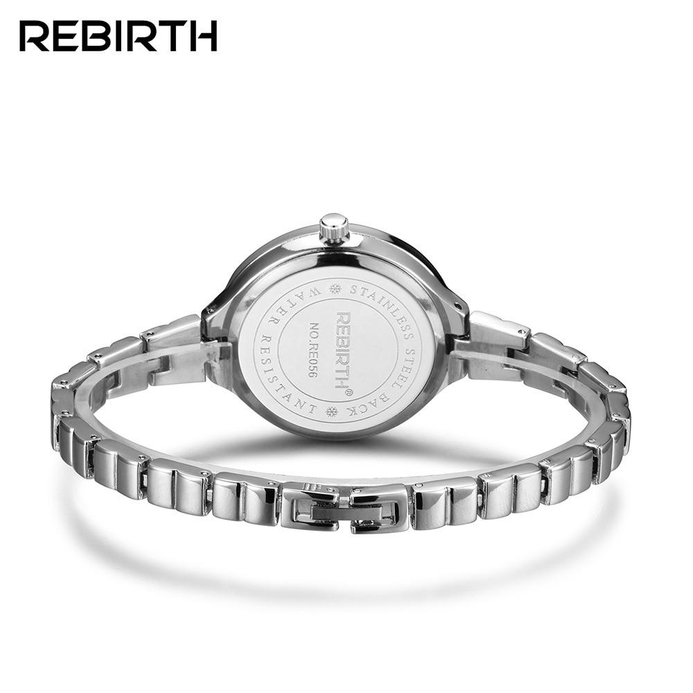 Anke Store New Small Quartz round stainless steel fashion Bracelet designer brand luxury wrist women watch relojes para mujer enlarge