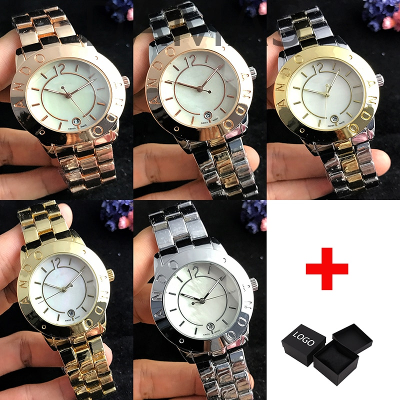 Hot Sell Europe and the United States Stainless Steel Men Women Couples Quartz Watches contracted Ge