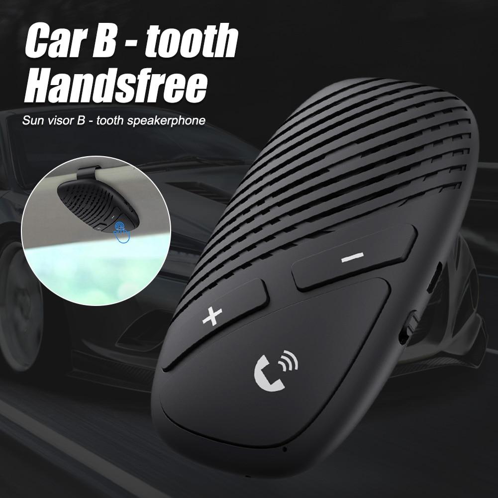 Автомобильный козырек от солнца, беспроводной динамик громкой связи, Bluetooth-совместимость, 5,0 аудио, автомобильный комплект, громкий динамик,...