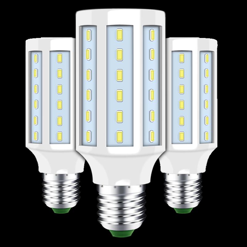 Lâmpada led e14 e27 nenhuma cintilação milho luz do ponto 220v quente vela branca conduziu a luz para sala de estar