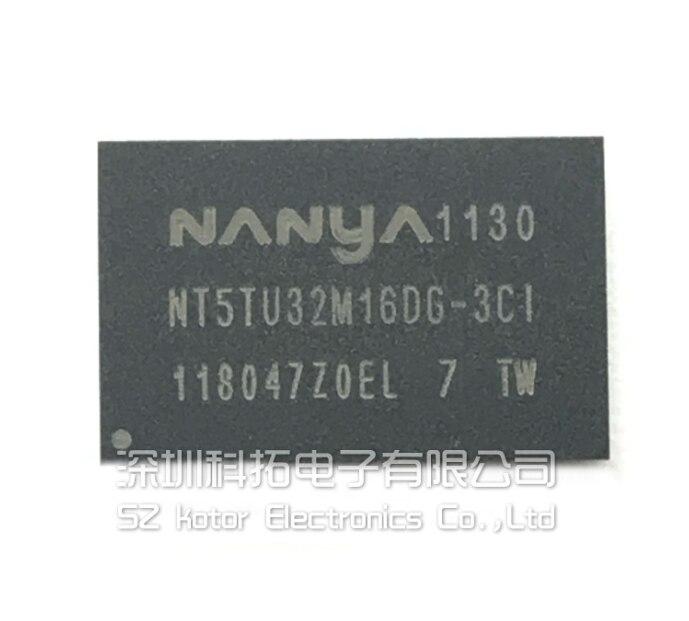 Mxy 100% جديد الأصلي NT5TU32M16DG-3CI بغا رقاقة الذاكرة NT5TU32M16DG 3CI