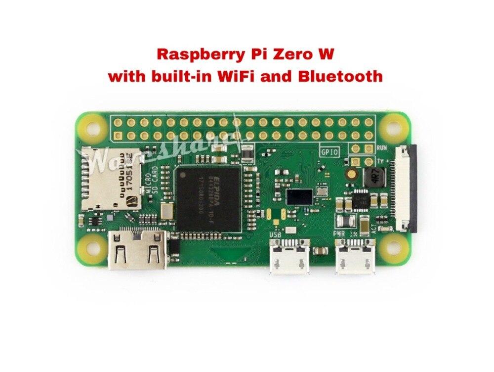 rpi0 raspberry pi zero w sem fio pi 0 com wifi e bluetooth 41 1ghz cpu 512mb ram
