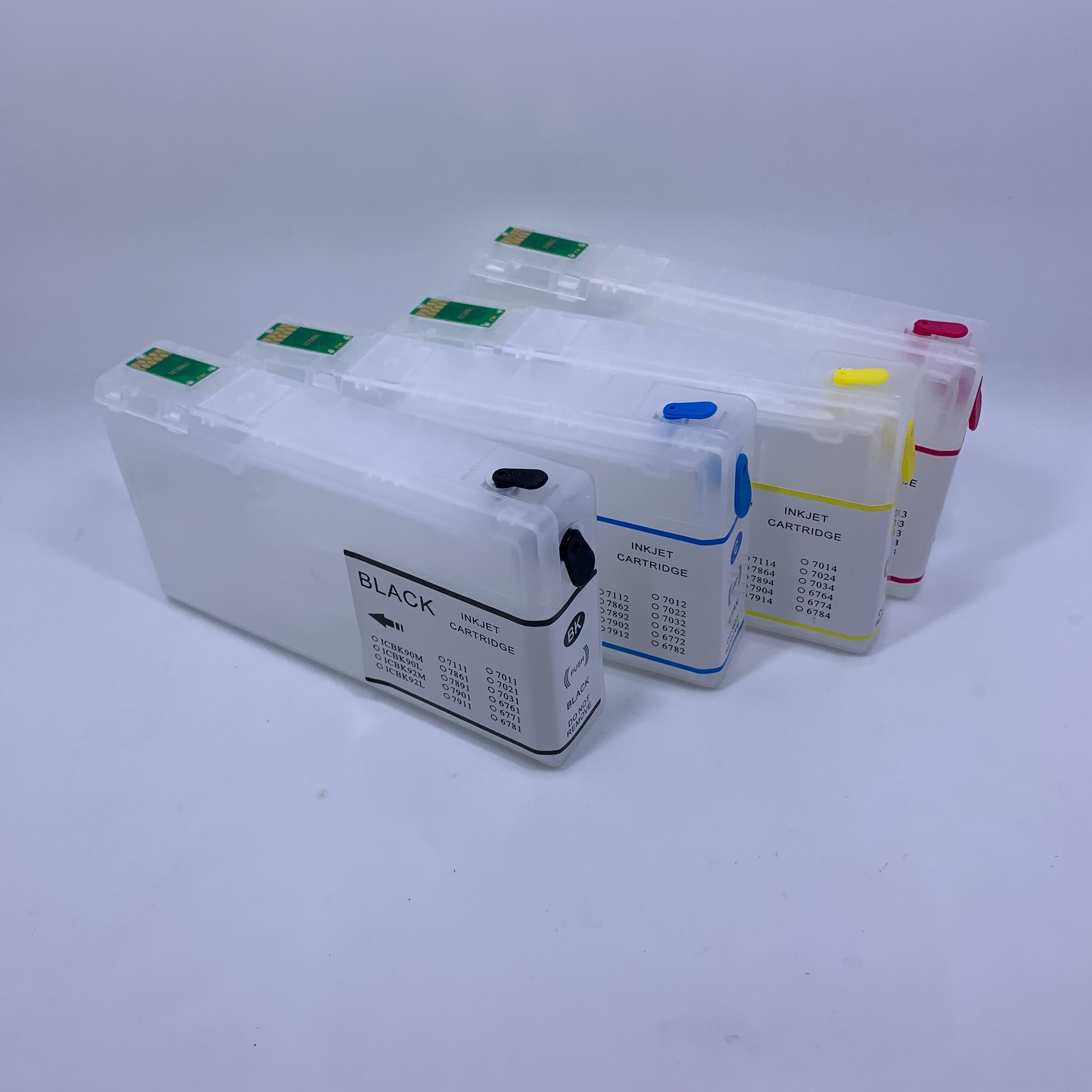 YOTAT refillable T6771 - T6774 ink cartridge for Epson WorkForcePro WP-4011 WP-4531 WP-4511 WP-4521 WP-4011 WP-4511 WP-4521