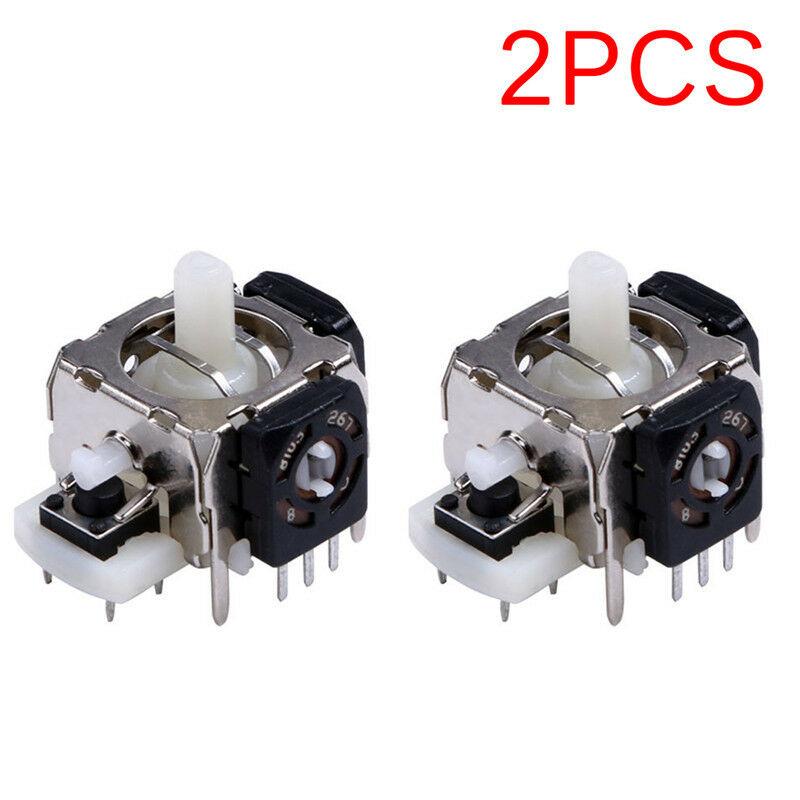 2Pcs/set 3D Analog Joystick For XBOX 360 Controller Game Joystick Replacement Wireless Controller Analog Sensor Axis Accessories