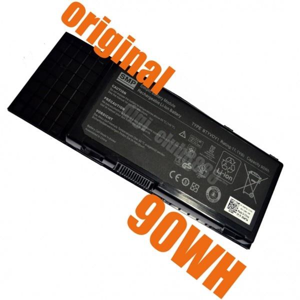 UGB genuino de Dell ALIENWARE M17X R3 R4 BTYVOY1 C0C5M 7XC9N 9-celular...