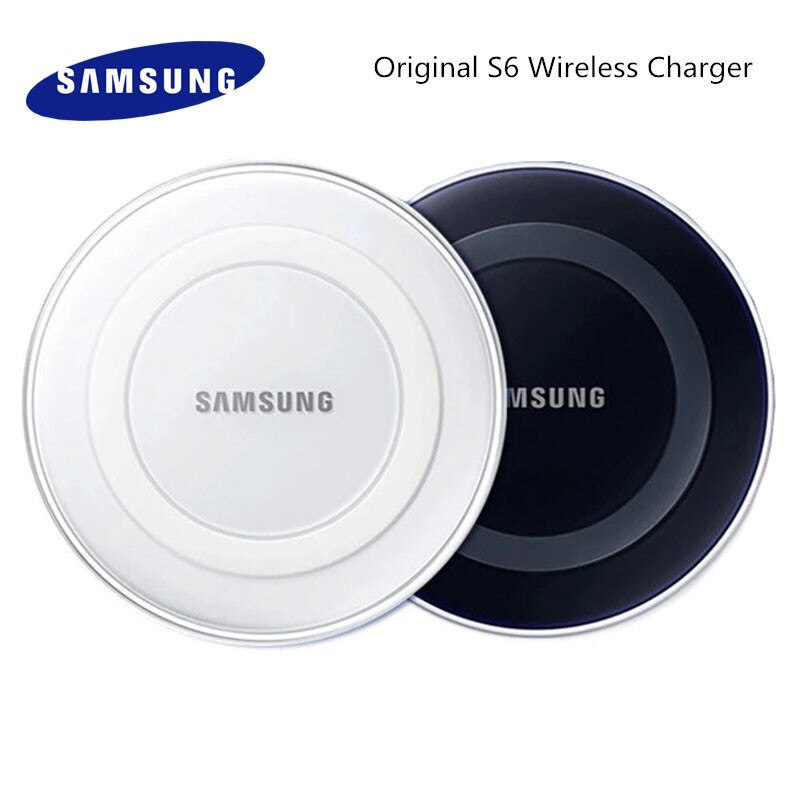 Original Samsung 5V 2A Drahtlose Ladegerät Adapter QI Schnelle Lade Pad Für Galaxy Note 20 10 Ultra S10 S9 s8 Plus Iphone 11 8 X Pro