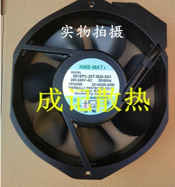 NMB-MAT 5915PC-20T-B20-S01 AC 220V 40W, 170x150x38mm ventilateur de serveur