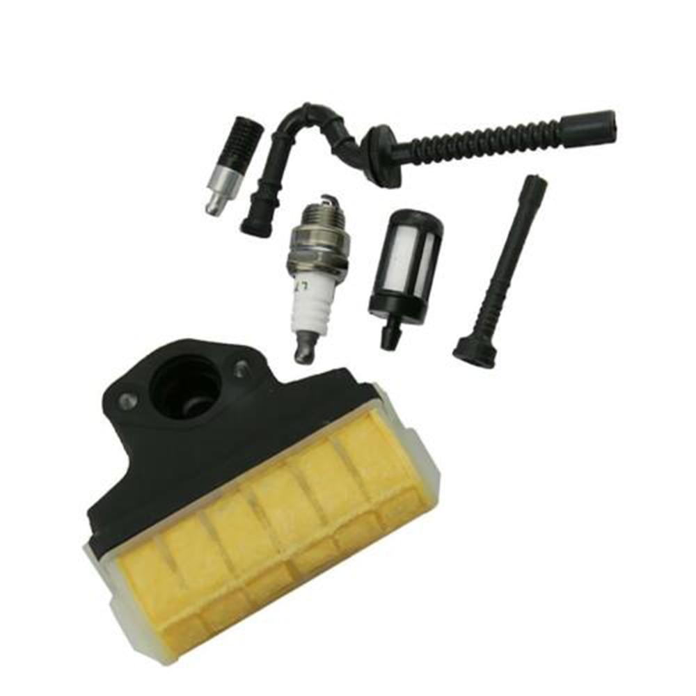 Kit de reparación de manguera de filtro de aceite de combustible de aire para STIHL 021 023 025 ms210 ms230 ms250 jardín patio Motor piezas herramientas