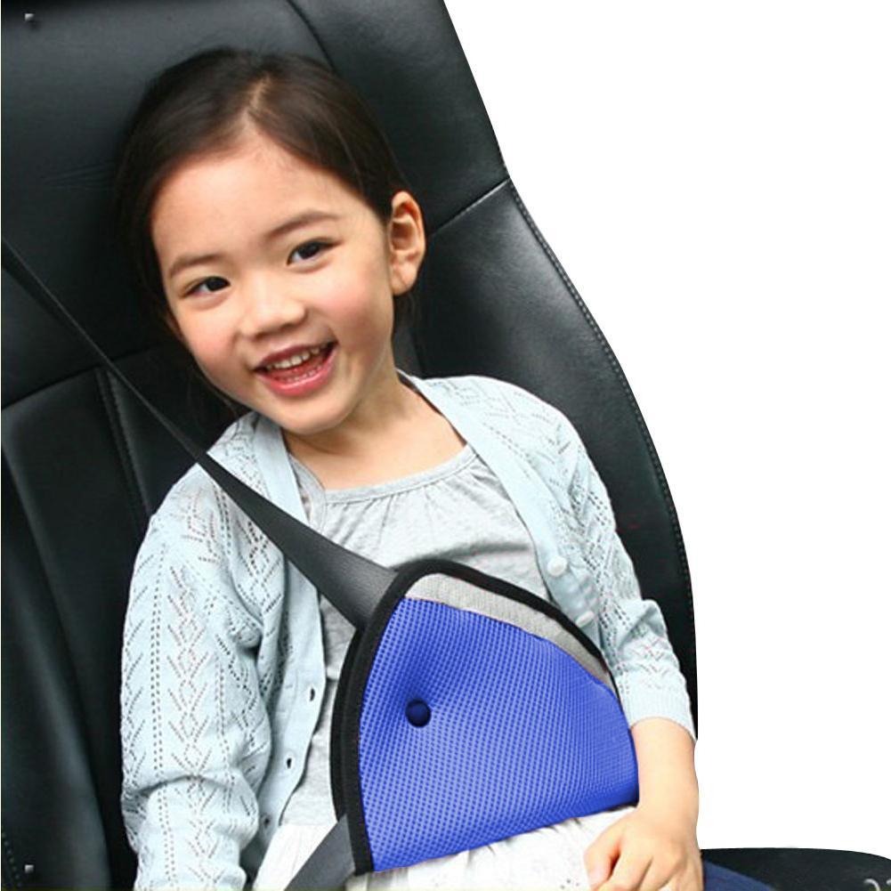1PC משולש מכונית בטיחות חגורת להתאים לילדים תינוק ילדים אוקספורד בד רכב בטיחות כיסוי רצועת עבור תינוק מושב מתכוונן